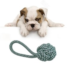 Pet Dog Toys Dogs Chew Clean Teeth Outdoors Traning Fun Toy Play Green String Ball For Big Small Dog Cat цены