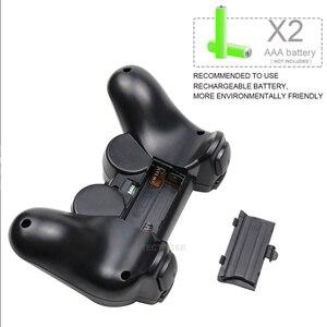 Image 5 - Para ps2 controlador sem fio gamepad manette para playstation 2 controle mando sem fio joystick para ps2 console acessório