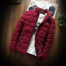 Mountainskin Winter Men Jacket 2019 Men's New Casual Thicken Warm Cotton