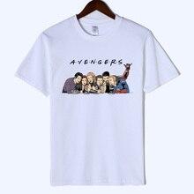 2019 Avengers Endgame Friends T Shirt Men Marvel Summer T-Shirt Short Sleeve Brand Tee Tops&Tees streetwear