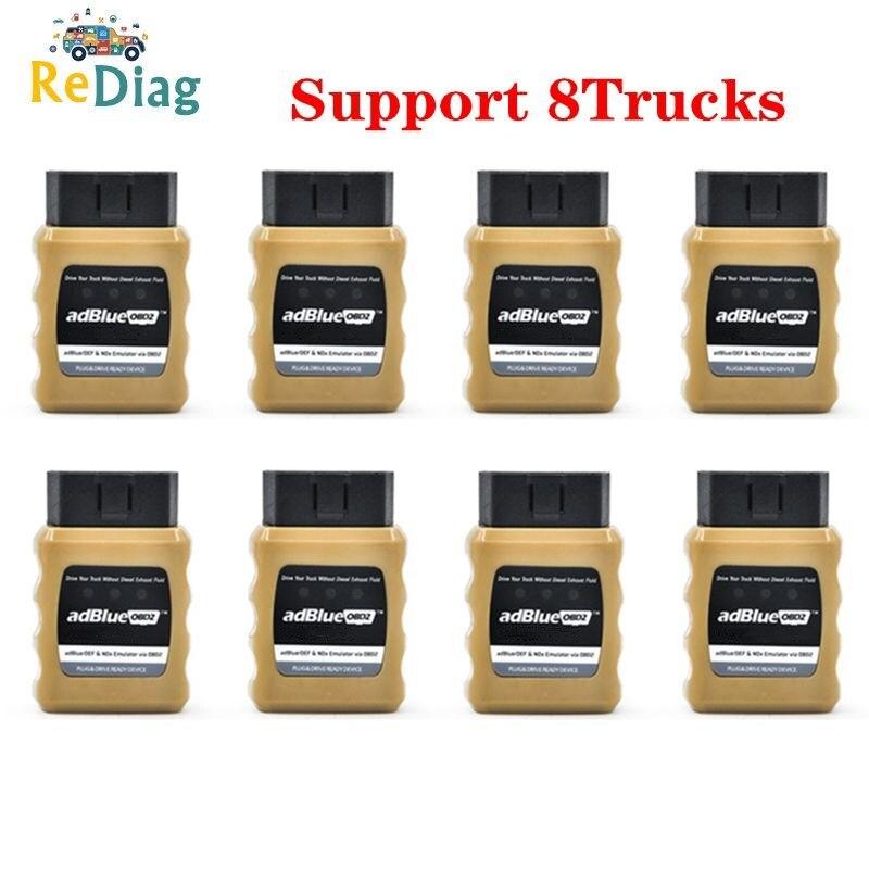 AdblueOBD2 For VOLVO Trucks Adblue Emulator Adblue/DEF Nox Emulator Via OBD2 For Volvo/DAF/Benz/Renault/Scania/Man/Iveco/FORD