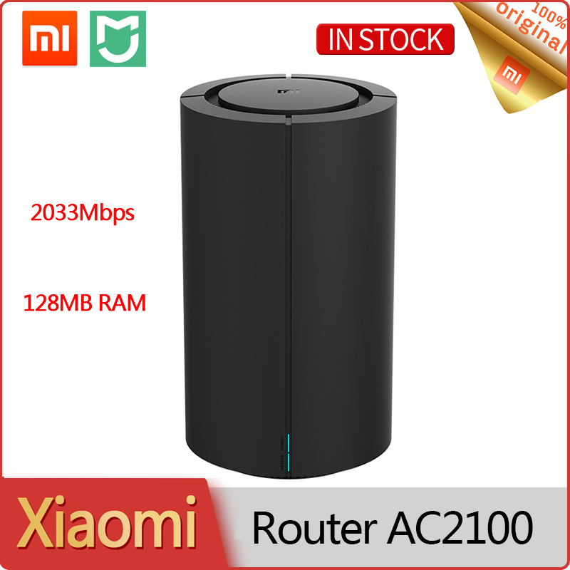 New Xiaomi  Router AC2100 2033Mbps 128MB 4 Antennas 2.4G/5G Dual Frequency WiFi Amplifier Repeater Game home  Miwifi APP Control
