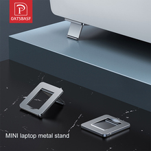 Mini Portable Invisible Laptop Metal Holder Adjustable Cooling Stand Foldable Multifunctional Holder 1Pair for Laptop Notebook
