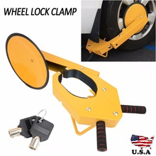 ATV RV Car Tire Claw Wheel Clamp Boat Truck Trailer Lock Anti Theft Parking Boot Security Devices Vehicle for