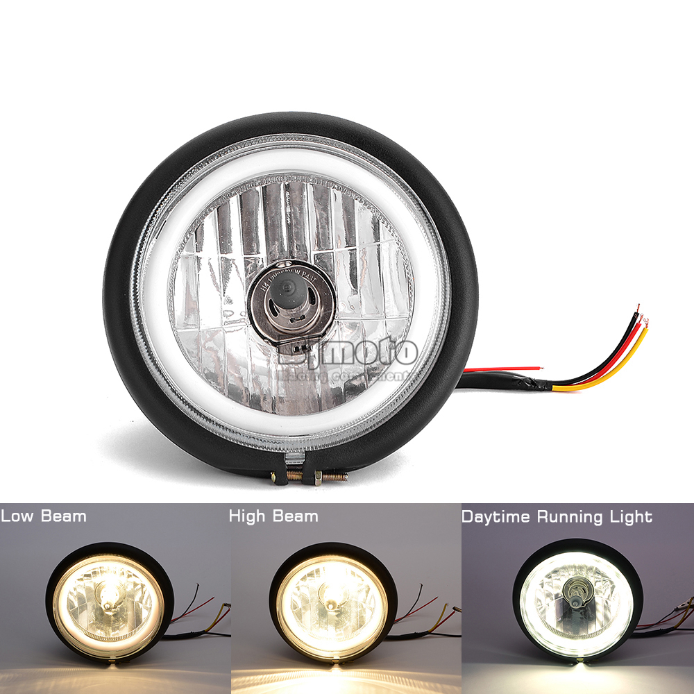 Universal New 6.5 inch Retro Headlights (12)