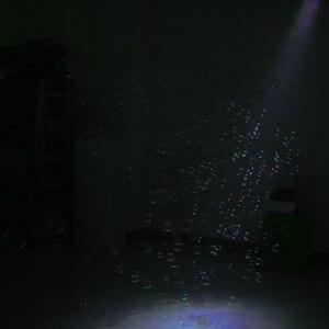 Image 4 - 自動制御バブルブロワーメーカー銃機djステージウェディングパーティー効果装飾吹く泡ボトル機器