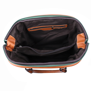 Image 5 - IMYOK Vintage Leather Womens Totes Luxury Hand Bags Ladies Designer Handbag Large Capacity Women Shoulder Bag Feminina 2020
