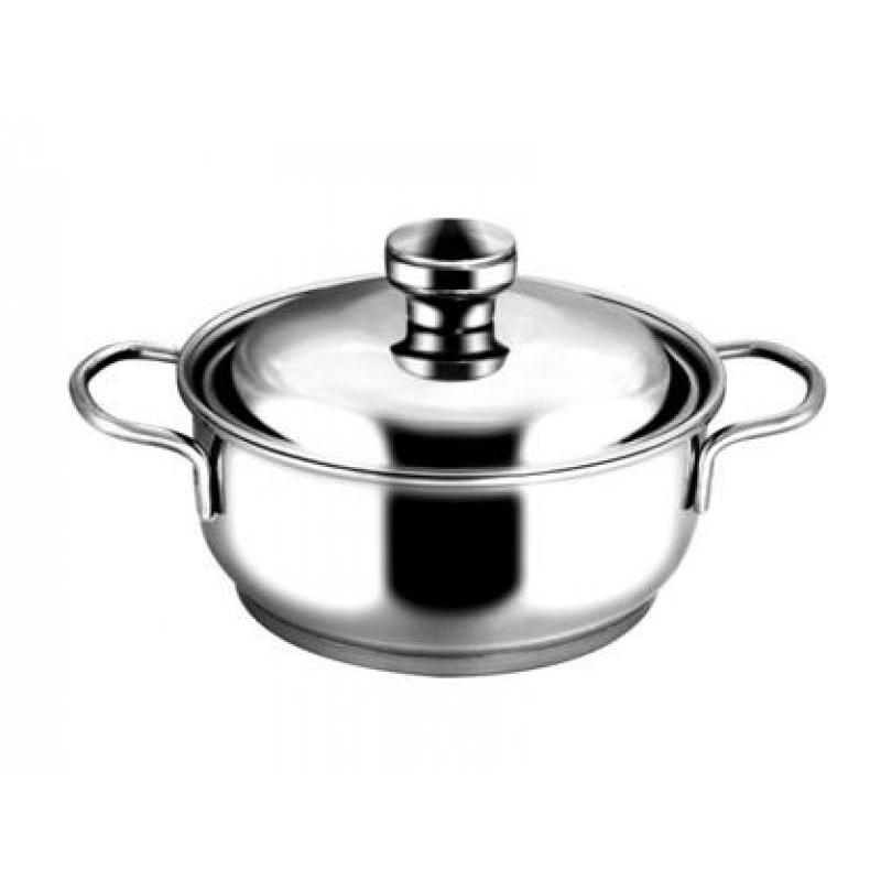 Pan АМЕТ, Classic-Prima, 1 L, with metal cover pan амет classic prima 1 l with metal cover