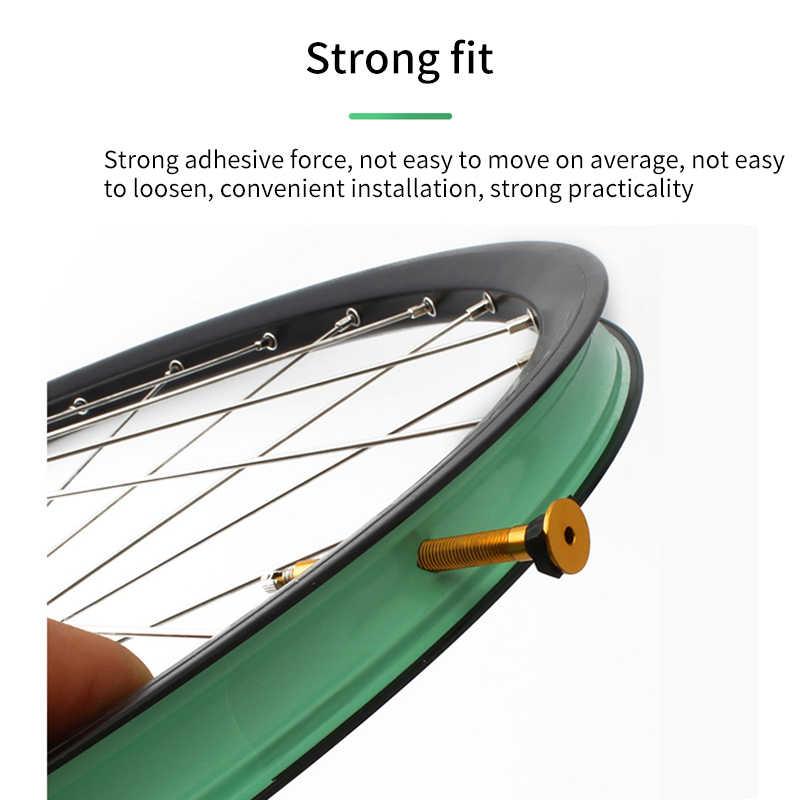 Bande de roues en carbone vélo vtt vélo de route 21/23/25/31mm largeur roue carbone paire de roues léger sécurité Tubeless jante bande