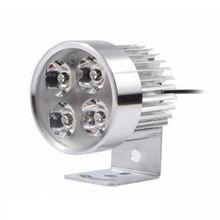 4led Мотоцикл головной светильник Точечный drl Противотуманные