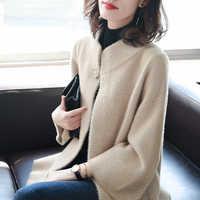 2019 inverno roupas curtas casaco de lã feminino casaco coreano outono casaco de lã jaqueta moda elegante mistura casaco feminino