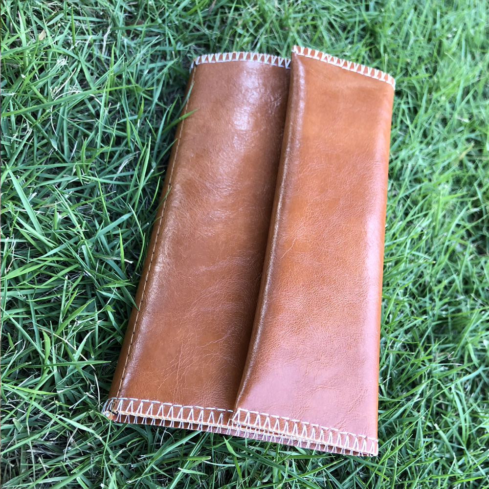 HORNET Leather Tobacco Pouch Portable Cigarette Rolling Pipe Tobacco Bag Case Wallet Tip Paper Holder Smoking Accessories 4