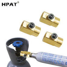 HPAT Soda Sparkling Water Soda Cylinder Stream Refilling Station Adapter with Bleed Valve