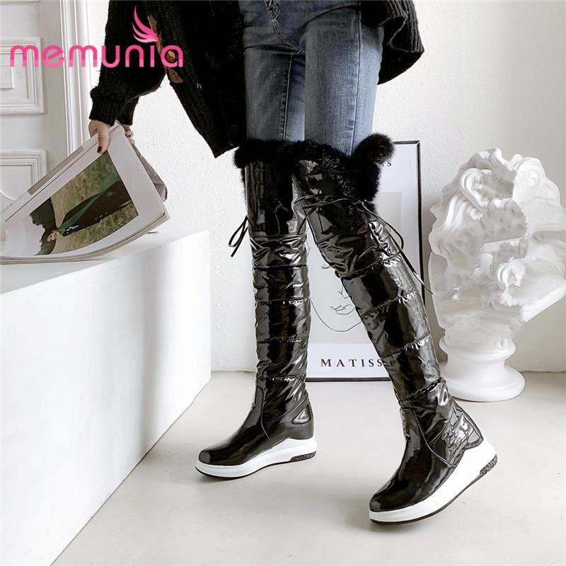 MEMUNIA 2020 hot thigh high boots women