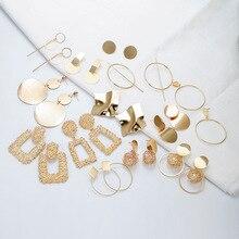 цены на Fashion Statement Earrings 2019 Big Geometric earrings For Women Hanging Dangle Earrings Drop Earing modern Jewelry  в интернет-магазинах