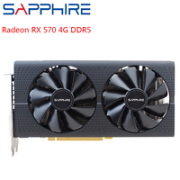 SAPPHIRE AMD Radeon Graphics Cards RX 570 4GB Gaming PC 256bit GDDR5 Video Card PCI Express 3.0 Desktop For Used Card Gamers