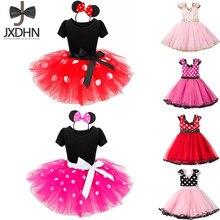 Lujo vestidos infantiles para niñas cumpleaños Pascua disfraz ratón vestido de niño traje de bebé Niñas Ropa para NIÑOS 2 6T desgaste