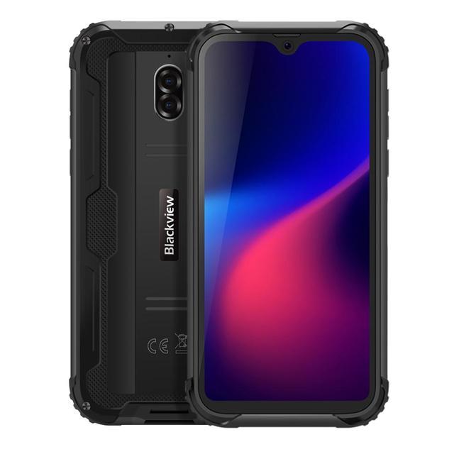 Blackview BV5900 IP68 Waterproof Rugged Smartphone 5.7'' Screen Android 9.0 Pie 3GB RAM 32GB ROM Mobile NFC 5580mAh 4G Cellphone 1