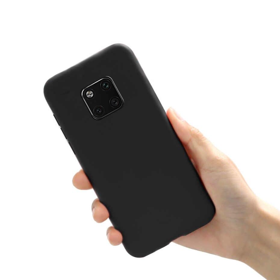 Macaron Silicone Mềm Dành Cho Huawei Y7 Y6 2019 P20 P30 Lite Pro P Thông Minh 2019 Giao Phối 20 30 Pro lite Danh Dự 10 8x 8C Ốp Lưng Điện Thoại