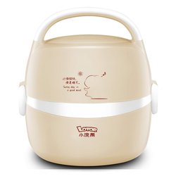 HM-2013 Electric Cooking Lunch Box Insulation Heating Warmer Container Steaming Rice Double Stainless Steel Liner Heating