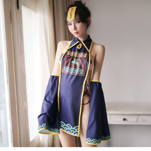 Robe Traditional Lingerie Clothing Sexy Women Hollow Cosplay Set Babydoll Zhengying-Film