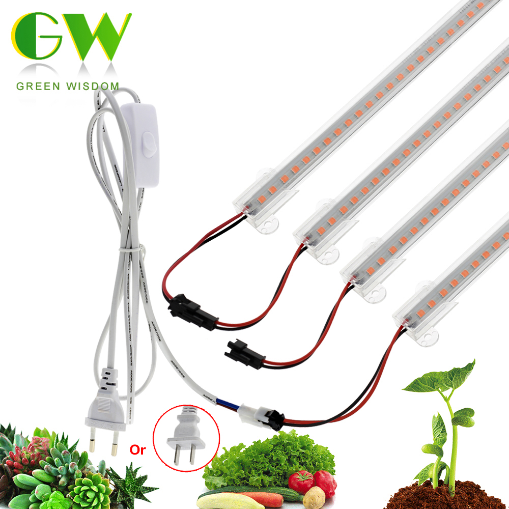 LED Grow Light 220V 110V Full Spectrum LED Lamp For Plants High Luminous Efficiency Phytolamp For Seedlings Greenhouse Grow Tent