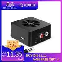 ORICO inalámbrica Bluetooth 4,0 receptor adaptador de 3,5mm a 2 RCA de Audio AUX adaptador de música para el teléfono Tablet PC TV dispositivos Bluetooth