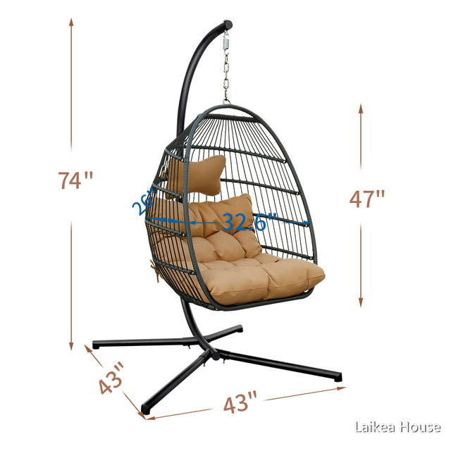 Single Hanging Egg Chair  3