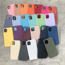 Original Official Liquid Silicone Case For iPhone 12 11 Pro Max 6 7 6S 8 Plus Full Cover For iPhone 11 X XS Max XR SE 2020 case