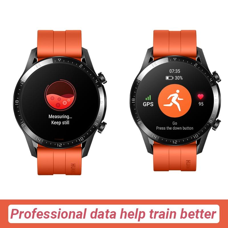 In stock Global Version HUAWEI Watch GT 2 GT2 Smart Watch Blood Oxygen SmartWatch 14 Days Phone Call Heart Rate Tracker 3