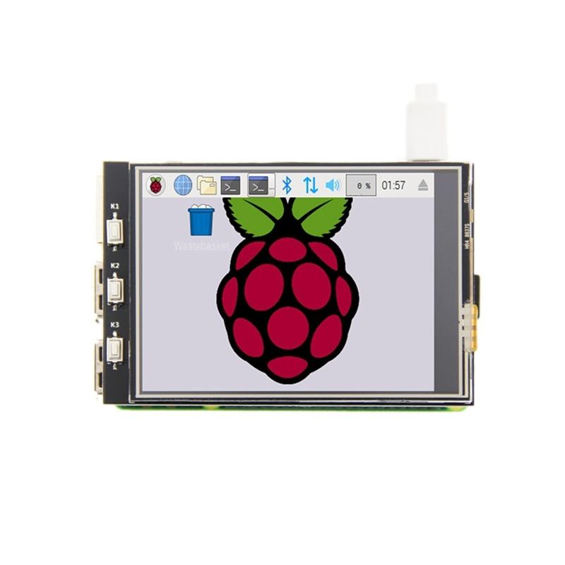 MHS 3.2 Inch LCD Press Screen 320x240 TFT Display Screen Module For Raspberry Pi