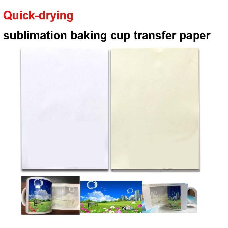 alta qualidade a4 rapida secagem impressora a jato de tinta personalizado sublimacao transferencia de papel copo