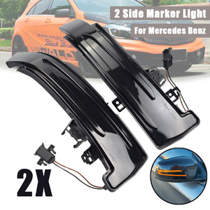 Image 2 - 2pcs For Mercedes Benz A Class W176 2013 2017 A180 A200 A250, A45 LED Blinker Dynamic Turn Signal Light Side Mirror Repeater