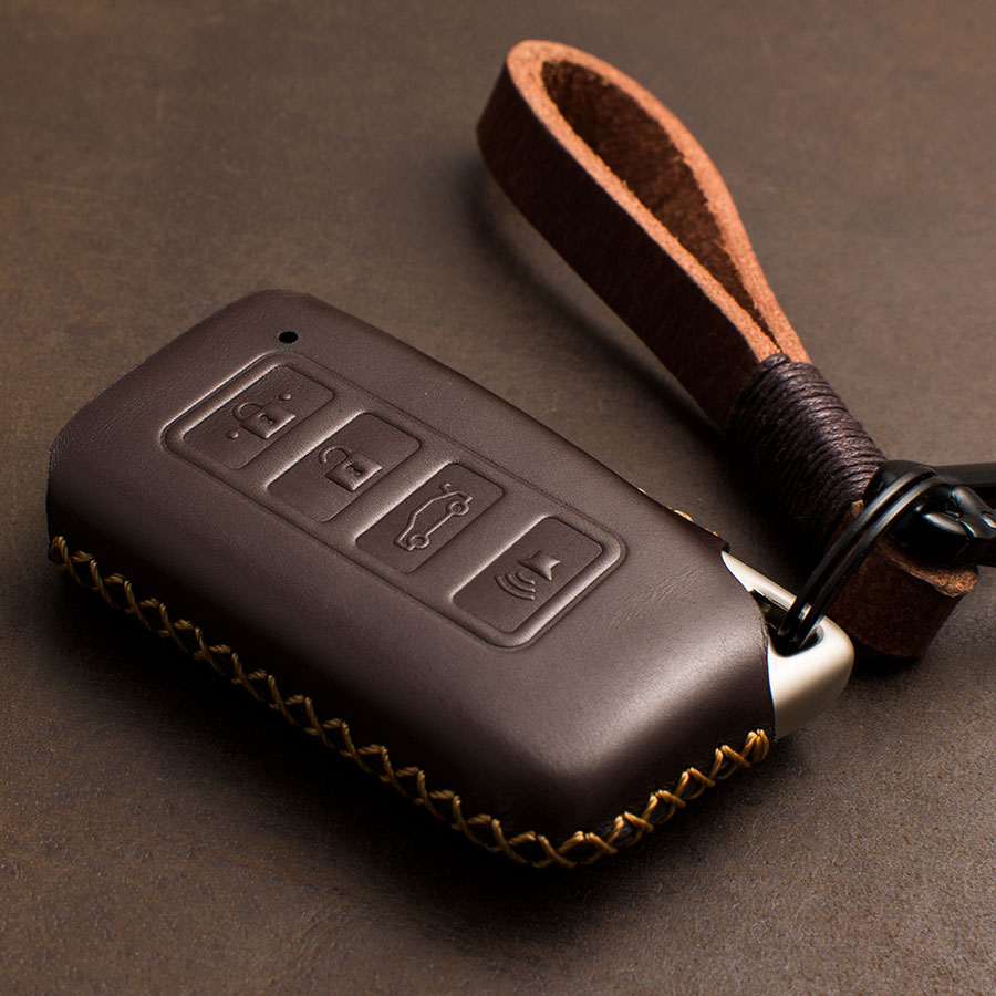 1 PCS Genuine Leather Key Case Key Cover Protect Bag for <font><b>Lexus</b></font> NX200 ES200 250 <font><b>RX200t</b></font> case Key shell ES RS GS IS LX NX Series image