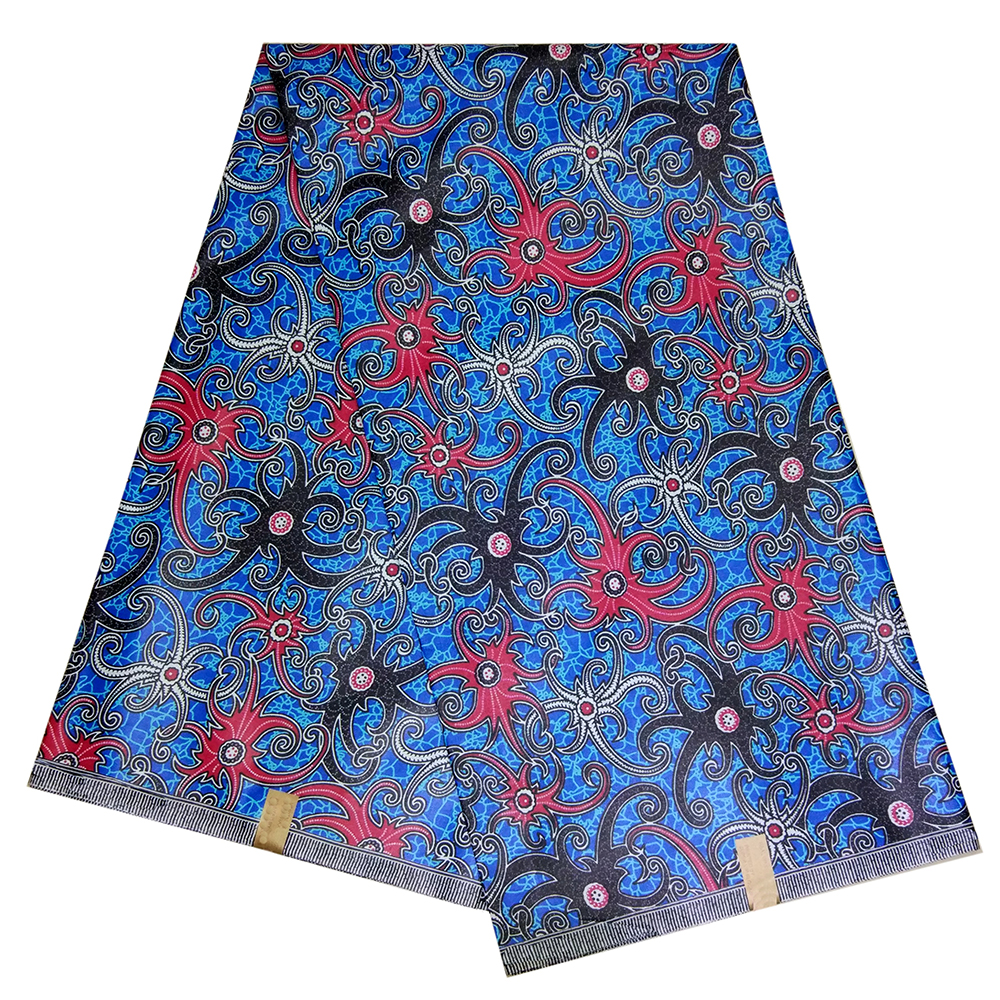 2019 New Design African Wax Print Fabric 100% Cotton Nigerian Ankara Veritable Wax African Fabric