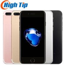 Oryginalny odblokowany IPhone Apple 7 Plus 5.5 ''12.0MP linii papilarnych LTE 3G RAM 32G/128G/256G ROM telefon komórkowy rdzeń telefonu komórkowego