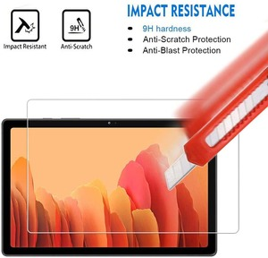 Tablet vidro temperado protetor de tela capa para samsung galaxy tab a7 2020 t500 t505 10.4 polegada hd proteção para os olhos filme temperado