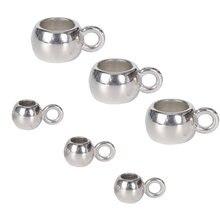 30 unids/lote COLLAR COLGANTE cierres ganchos agujero grande perlas bolas pulsera encantos conectores para suministros de fabricación de la joyería