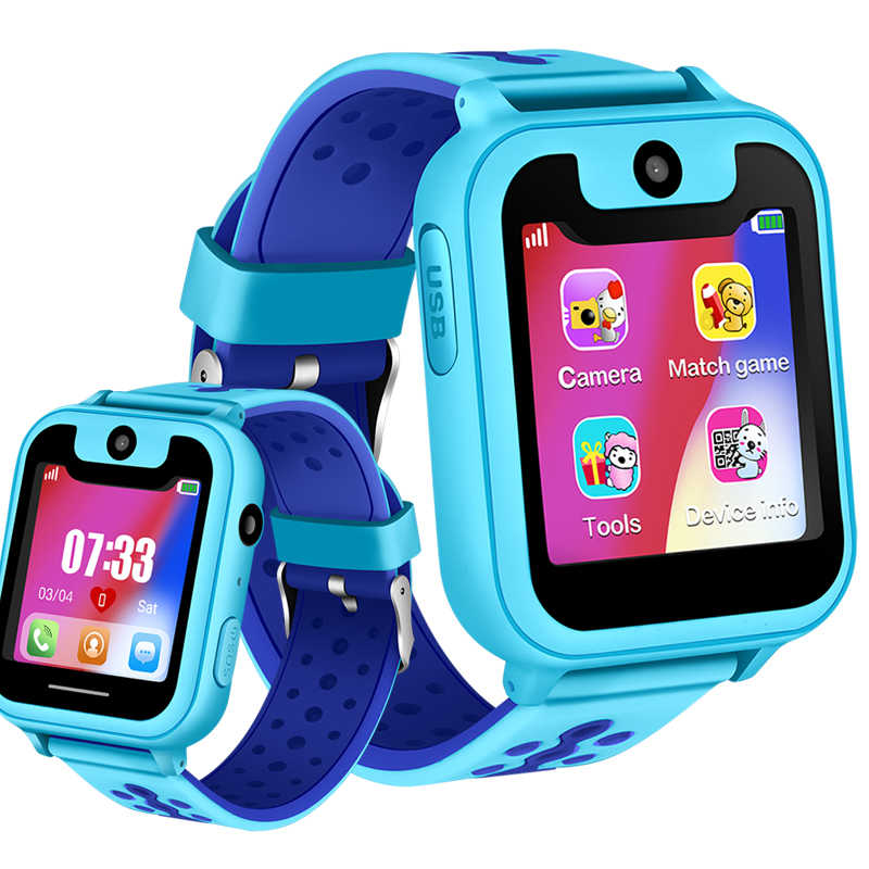 LIGE 2019 NEW smart watches boys girls baby watch LBS Position Tracker phone answer kids watch Support for Android ios phones