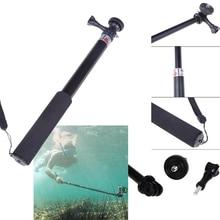 Wasserdicht Einbeinstativ Stativ Teleskop für Gopro Stick Erweiterbar Baton Selfie Handheld Sophie Sticks w/Mount für GoPro Hero 3