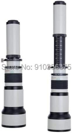 Телеобъектив jintu 650 1300 мм (с 2 2600 мм) для canon ef mount