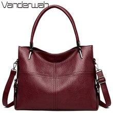 럭셔리 여성 핸드백 대용량 토트 백 디자이너 정품 가죽 숙녀 핸드 가방 캐주얼 Crossbody 가방 여성 2020