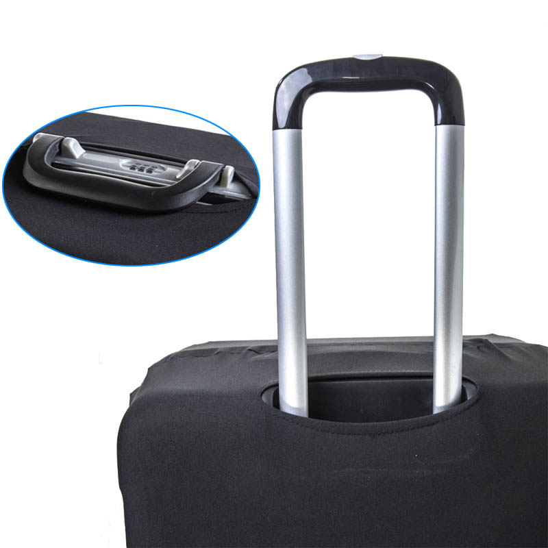 Luggage Protective Cover Stretch Fabric Suitcase Protector Baggage Dust Case for 18-25'' Travel Accessories Carry On Covers