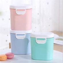 Вместительный контейнер для детского молока и порошка из мелкого