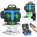 3D/4D Green Laser Level 360 Selbst Nivellierung Laser Ebene 360 Laser Nivellierung Gerät Werkzeug Vertikale Horizontale Crossline APP Control