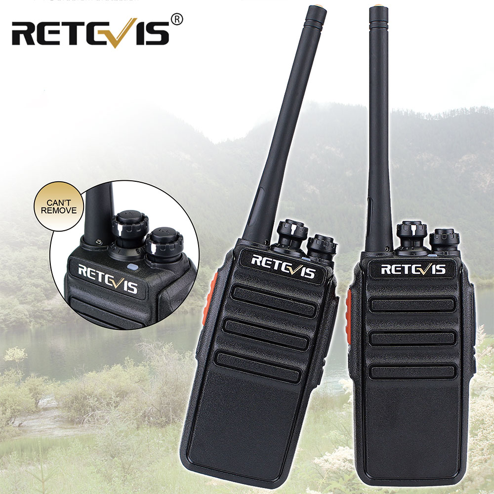 2pcs Retevis RT24 PMR Radio Walkie Talkie 0.5W UHF PMR446 VOX Handheld Two-way Radio Portable Transceiver Radio Comunication