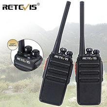 цена на 2pcs Retevis RT24 Walkie Talkie 0.5W/2W UHF 400-470MHz PMR446 License-Free VOX Scan Two Way Radio A9123