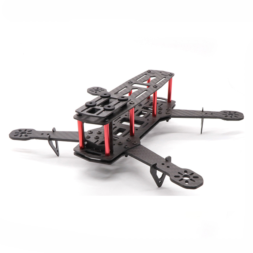 QAV250 V3 250mm Wheelbase 5 Inch 3/4mm Arm Frame Kit Glass fiber for RC <font><b>Drone</b></font> <font><b>FPV</b></font> <font><b>Racing</b></font> image