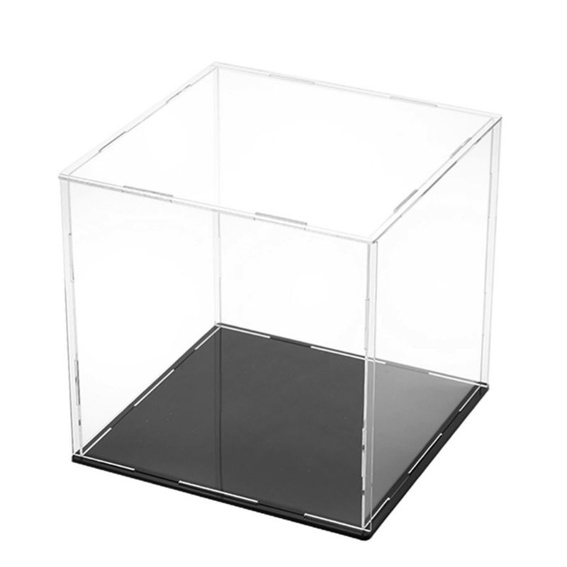Clear Acrylic Display Case Dustproof Model Toy Showcase Action Figures Show Box