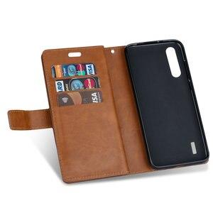 Image 4 - Luxury Zipper Flip Case Solid Leather for Xiaomi Mi 9 Lite Case Mi 9Lite Card Slot for Funda Xiaomi Mi9 Lite 9 SE Wallet Cover